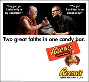 Dalai Lama & Rob Bell - Double Belonging / Christian Buddhism
