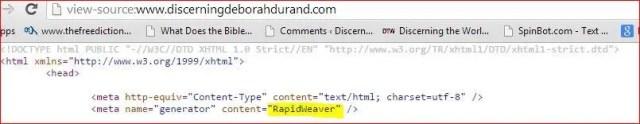 DiscerningDeborahDuRand- Rapidweaver