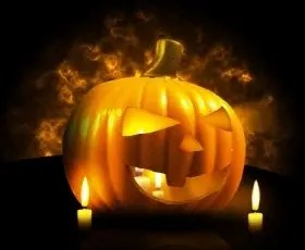 Halloween-Pumpkin (Photographer: Salvatore Vuono)