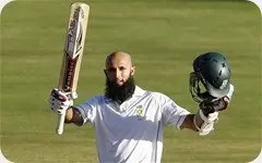 Hashim Amla and an absent Castle