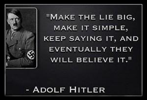 Hitler Lies