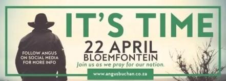Angus Buchan - It's Time to Unite All Faiths under Rome