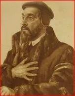 John Calvin freemason handsign 6