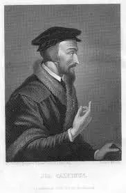 John Calvins Freemason handsign