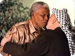 Mandela and Arafat