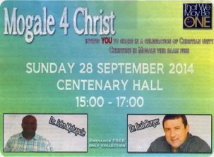 Mogale for Christ