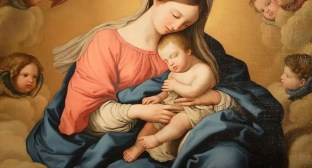Mother and child - pagan