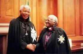 Nelson Mandeal - Desmond Tutu - Knight of Malta