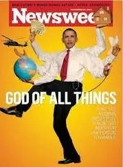 Obama-GodofAllThings-Newsweek
