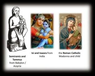 Semiramis and Tammuz pagan