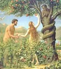 Serpent in the Garden of Eden