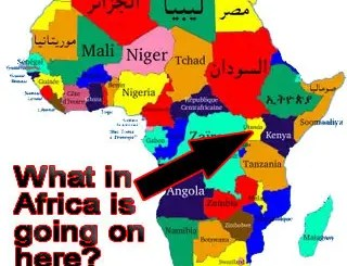 Uganda – Africa Map