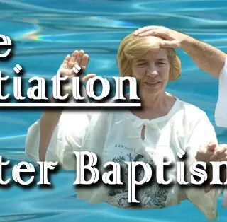 Water-Baptism-Initiation