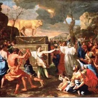 adoration-of-the-golden-calf-by-nicolas-poussin_thumb