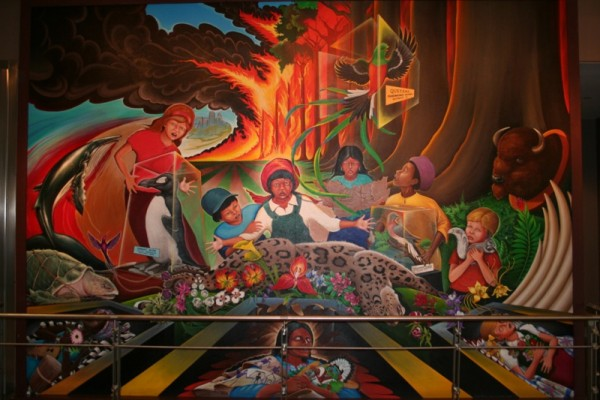 1stmural Sinister Sites   The Denver New World Order Airport