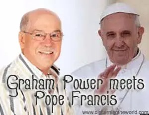 pope francis and graham power