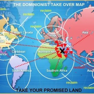 dominionist world map