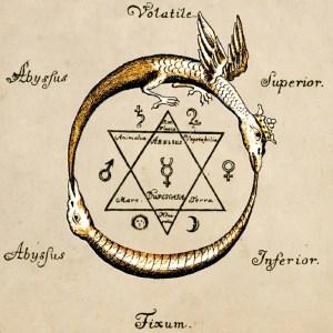 Ouroboros Sign of David