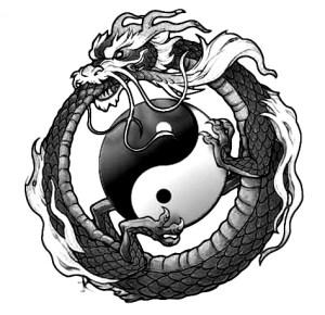 Ouroboros Yin Yang