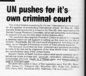 UN Criminal Court