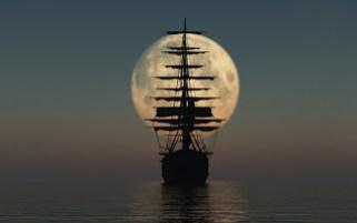 Ocean Moon Sail Ship
