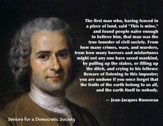 Rousseau Speaks of Cain