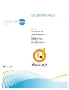 Everything DiSC® Sales