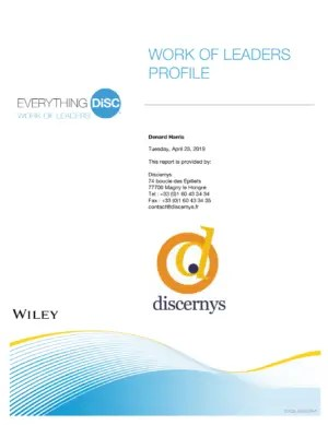 Everything DiSC Work of Leaders®