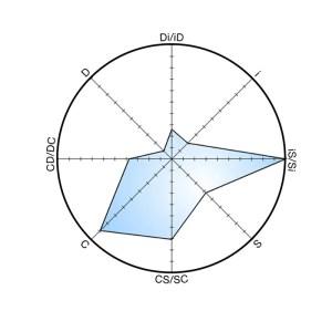 Echelle méthode DiSC
