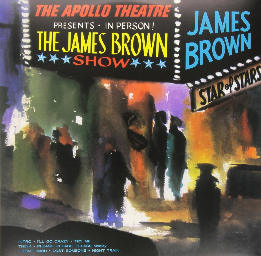 Risultati immagini per james brown live at the apollo