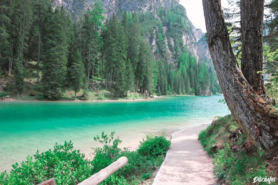 Itinerario Lago di Braies