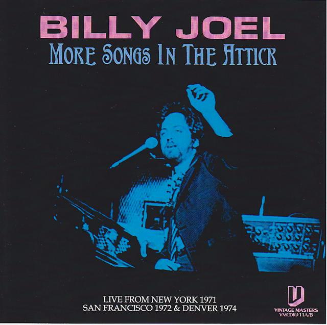 billy joel more songs in the attick 2pro cdr vintage masters vmcdr 311a b