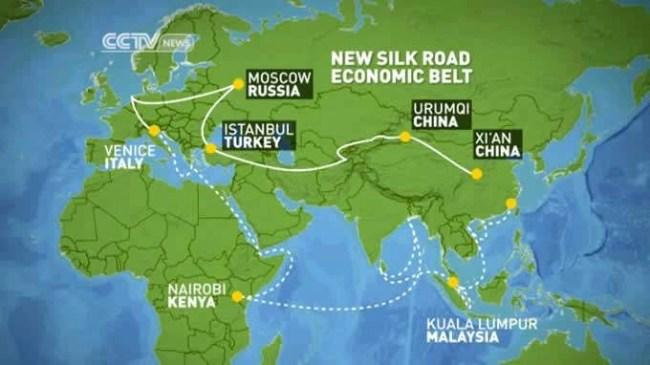 China OBOR One Belt One Road