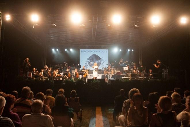 percoto canta Tutto pronto per la grande finale di Sabato 25 luglio a Villa Frattina Caiselli
