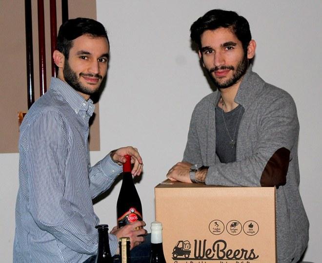 fondatori webeers Digital Magics lancia WeBeers: primo e commerce delle birre artigianali italiane