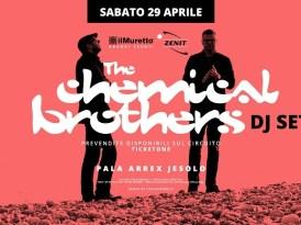 THE CHEMICAL BROTHERS – Le superstar della consolle straordinariamente live al Pala Arrex di Jesolo