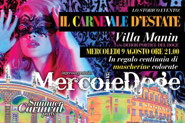%name Il carnevale destate Villa Manin 9 agosto 2017
