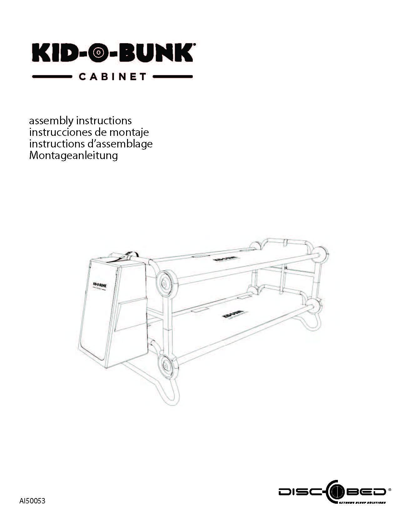 Kid O Bunk Cabinet