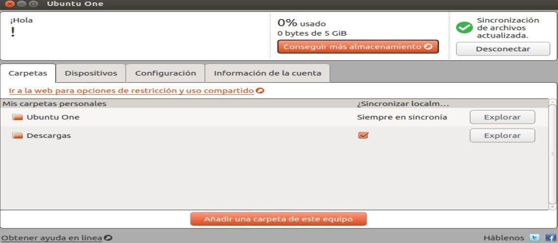 ubuntu 12.04 TLS ubuntu one