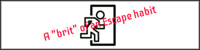 A Brit Of An Escape Habit Logo