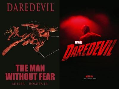 Daredevil dal fumetto alla serie Netflix