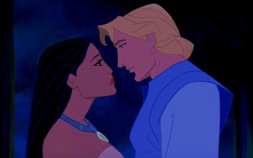 Pocahontas e John Smith Disney