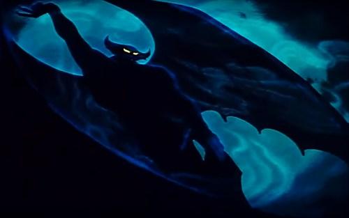 Chernabog, protagonist di Una notte sul Monte Calvo, tratto da Fantasia. Un classico del bionomio Disney e horror