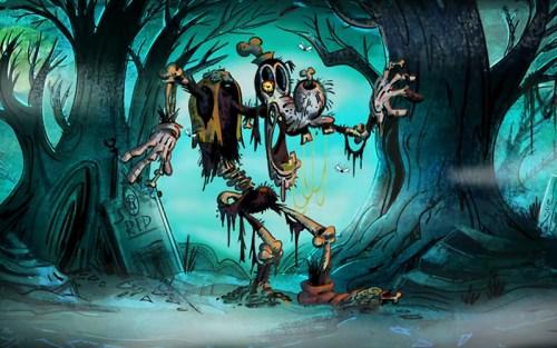 Il pippide ghoul di Uno scheletro per amico, il più recente dei titoli nella nostra Top5 Disney horror