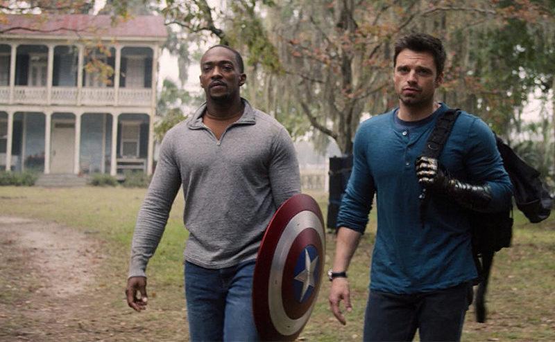 Sam e Bucky si allenano per il gran finale di The Falcon and the winter soldier, che però non riteniamo abbia grosse conseguenze sul Marvel Cinematic Universe