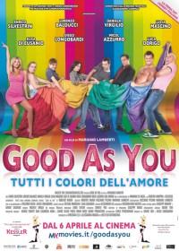 La locandina di Good as you, commedia lgbt italiana molto leggera (forse troppo)