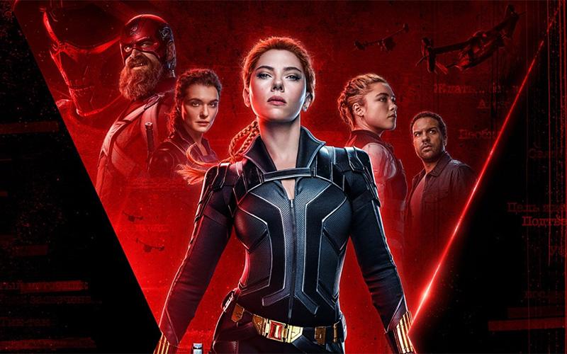 La locandina di Black Widow, del Marvel Cinematic Universe