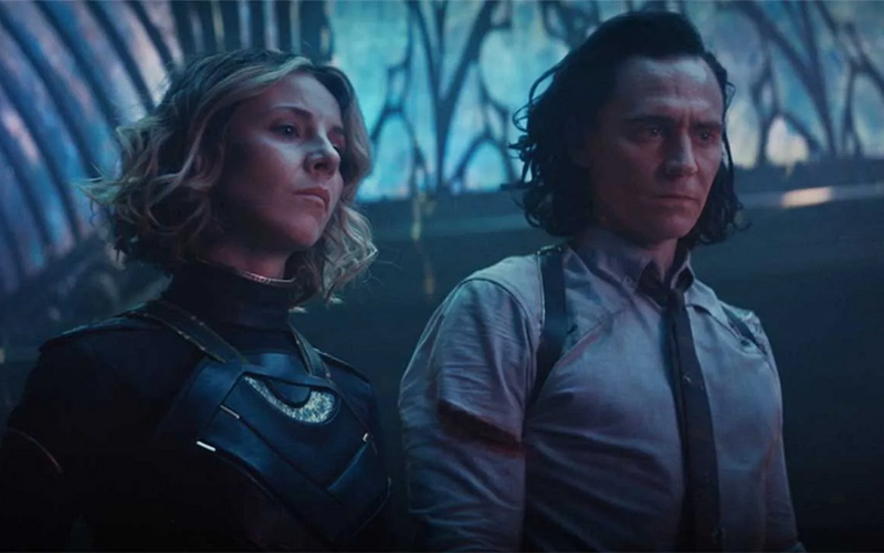 Loki e Sylvia prima dello scontro finale con Colui che rimane