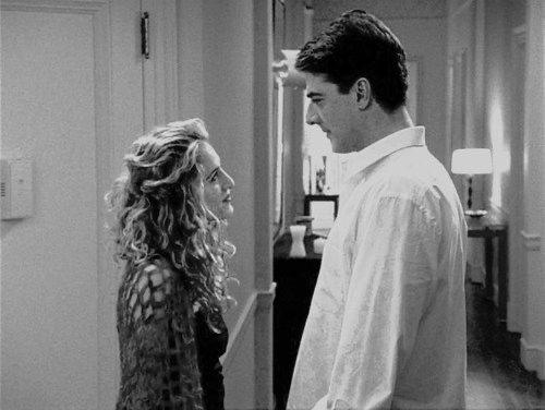 Carrie e Mr.Big in una scena di Sex and The City