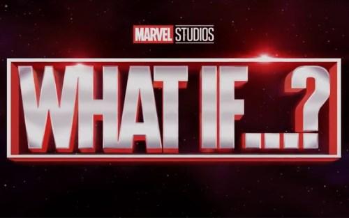 Il logo della serie Marvel What if...?
